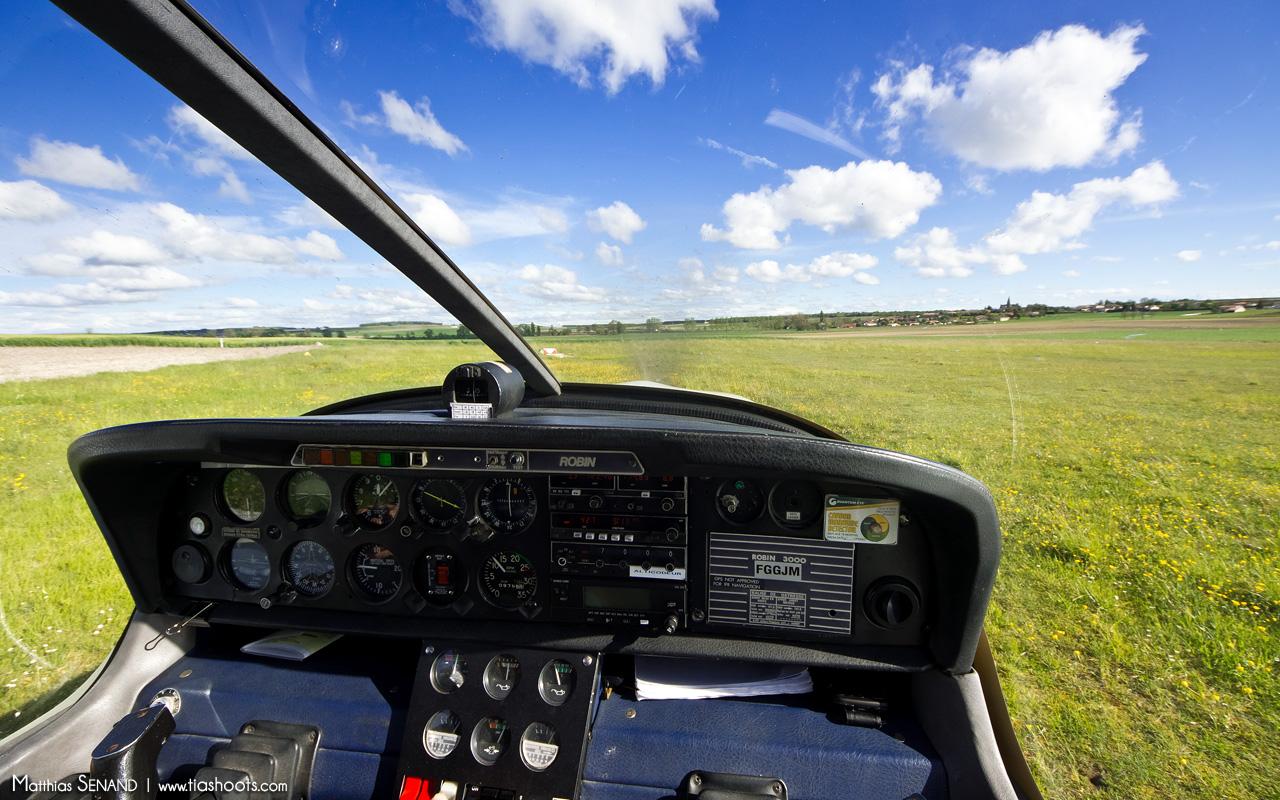 Poste de pilotage Robin R3000